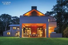MODE Interior Designs and CCS Architects Infuse a Hamptons Retreat with West…