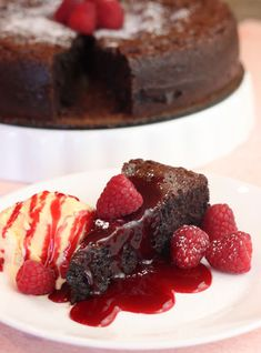 Easy Flourless Chocolate Cake - The Prepared Pantry | Gourmet Baking Mixes, Ingredients, Foods, and Recipes at The Prepared Pantry
