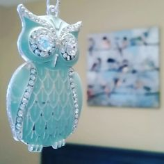 Unique fan pull chain #necklace #owlalways #owl #upcycle