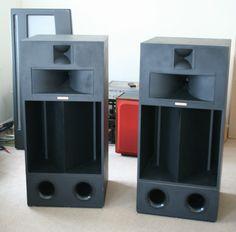 VERY Special Pair of Klipsch La Scala Speakers. Birch Ply Cabinets, Superb Sound | eBay