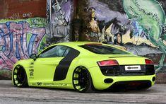 Bad-ass Audi R8