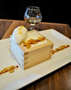 pumpkin mochi cake with Casa Noble Tequila