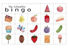 Very Hungry Caterpillar Bingo Game