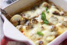 Gratin léger d'oeufs durs aux champignons WW, recette d'un savoureux plat complet facile et simple à réaliser pour un repas léger accompagné d'une bonne salade.