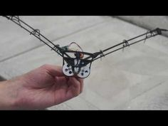 Ornithopter wings mechanism / Механизм крыльев робоптицы - YouTube