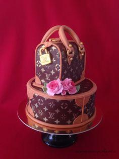 LV FASHION CAKE- by Red Carpet Cake Design®