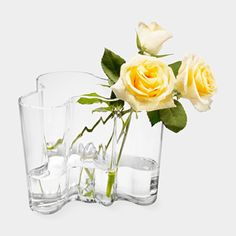 Clear Aalto Vase from MoMA