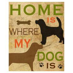 Best Friend My Dog II Wall Art