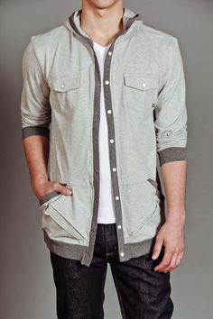 JackThreads - Hooded Jersey Sweatshirt