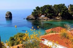 Sea view from Parga, Epirus, Ionian, Greece ~ photographer Marie Therese Magnan Summertime Sadness, Scenic Photography, Great Pictures, Aerial View, Vacation Trips, Beautiful Places, Beautiful Scenery, Places To See, Seaside
