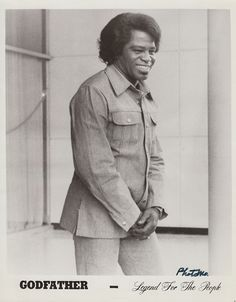 James Brown, Godfather of funk & soul music!