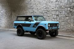 Motorcar Studio is pleased to offer this 1973 International Harvester Scout II. Fresh from a thorough restoration, this Scout has a great look and good power. International Scout 2, International Harvester Truck, American Classic Cars, Classic Trucks, Offroader, Drive Time, Model Scout, Fender Flares, Four Wheel Drive