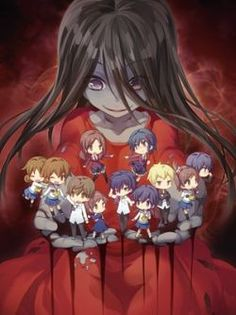 Corpse Party: Tortured Souls - bougyakusareta tamashii no jukyou #anime #manga - horror/ova/school