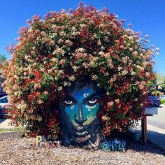 Impressive & Creative Mural Tree Hair Street Art Graffiti Ideas - Home & Garden: Inspiring Interior, Outdoor and DIY Ideas 3d Street Art, Street Art News, Amazing Street Art, Street Art Graffiti, Amazing Art, Graffiti Artists, Awesome, Urbane Kunst, Art Du Monde