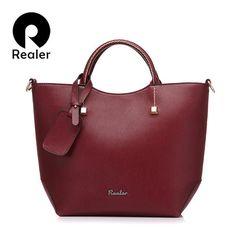 Fashion PU Leather Messenger Handbag