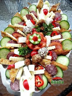 Appetizers For Party, Appetizer Recipes, Dinner Recipes, Party Appetisers, Party Platters, Food Platters, Vegetarian Recipes, Cooking Recipes, Cooking Videos