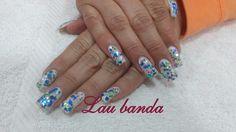 Confeti, nail art
