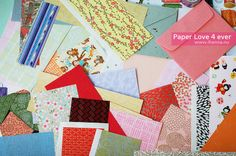 iHanna says: I love pretty papers and I can not lie! #paperlove #collagepapers