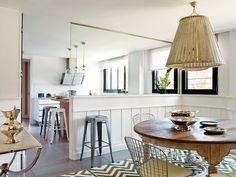 Una vivienda con estilo actualizado