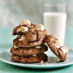 Mississippi Mud Cookies -- Rich chocolate and ooey-gooey marshmallows give these cookies their savory sweetness.