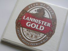 Game of Thrones Variety Pack of Five Ceramic by TrendyCoasters, $30.00