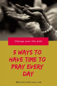 Encouraging Bible Verses:Do you struggle to find time to pray every day? These 5 ideas are easy to put into action and will help you have a consistent prayer time each day. Prayer Prayer, Prayer List, Prayer Times, Praying For Your Husband, Christian Living, Christian Women, Pray Without Ceasing, Encouraging Bible Verses, Toxic Relationships