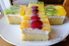 Sweet Cakes, Kefir, Amazing Cakes, Cheesecake, Cooking Recipes, Sweets, Baking, Fruit, Food
