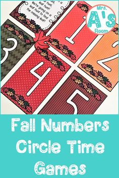 These circle time games are packed full of numbers and counting skills! The ideas and activities in this resource will keep your preschool and kindergarten kiddos engaged and learning throughout your fall theme! All three printable games are ready to print, cut, and use! #preschool #kindergarten #circletime #falltheme #countingactivities #numbersactivities Circle Time Games, Circle Game, Kindergarten Themes, Preschool Themes, Counting Activities, Adding And Subtracting, Letter Sounds, Autumn Theme, Learning Centers