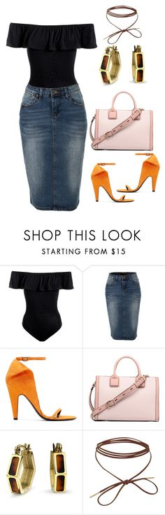 """""""Colourfunk"""" by vilzak on Polyvore featuring Sans Souci, LE3NO, Calvin Klein 205W39NYC and Bling Jewelry"""