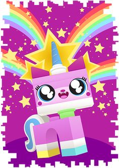 I think Unikitty resembles most teenage girls. She is sweet and caring, obviously just wants to have fun, and when she gets angry... She gets ANGRY. That's why I love her. >u<