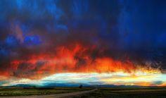 Pikes Peak, Colorado Sunset by Lars Leber Photography