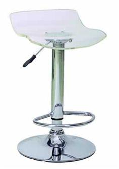 Acrylic Bar Stool 9810CL-SO - $77.12