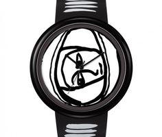 """ODM Watch design by JC de Castelbajac Design Unisex """"Space Cowboy"""" JC04-1"""
