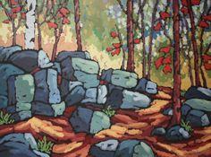 "Test of Time by Jennifer Woodburn, 36""x48"", Acrylic on Canvas"