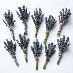lavender boutonniere - Google Search