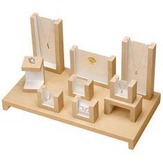 Wooden Jewelry  Display #jewelrytips