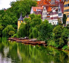 Tübingen, Germany. Never think of this country like this!