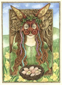 The truth about Easter, eggs, & bunnies. A great resource for researching the history of Ostara