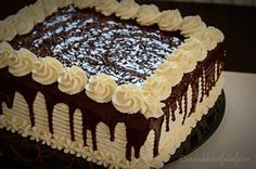 Tort cu 2 feluri de ciocolata | Dulciuri fel de fel