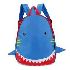 Shark Style School Bag