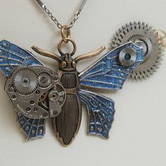 Time On Two Wings - Steampunk 3 by eddydowning, via Flickr