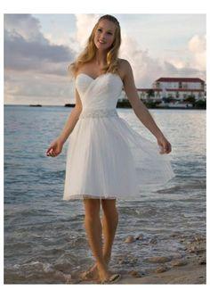 Simple Short Beach Wedding Dresses - Dresses for Wedding Reception Check more at http://svesty.com/simple-short-beach-wedding-dresses/