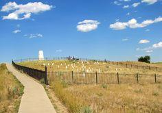 Little Bighorn Battlefield - The Last Stand Hill.