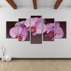 @Overstock - Bruce Bain 'Purple Orchid' Canvas Wall Art (5-piece Set) - Artist: Bruce BainTitle: Purple OrchidProduct type: Gallery-wrapped Canvas  http://www.overstock.com/Home-Garden/Bruce-Bain-Purple-Orchid-Canvas-Wall-Art-5-piece-Set/9134635/product.html?CID=214117 $110.59