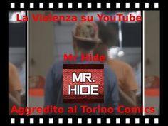 Mr HIDE aggredito da Fabio Zeta al Torino Comica : dico la mia