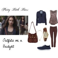 """Outfits on a Budget- PLL Spencer Hastings"" by oliviairene14 on Polyvore"