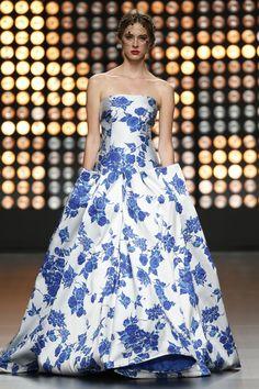 Vestidos de festa com estampados florais para 2016: vai adorar! – Noivas, Casamentos | Zankyou Portugal