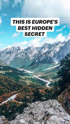 Albania Beach, Albania Travel, Top Europe Destinations, Amazing Destinations, Backpacking Tips, Hiking Tips, Travel Guides, Travel Tips, Weekend Hiking