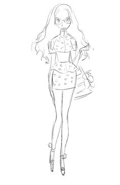 """shiyoonkim: """" Some early iterations of Honey Lemon! In terms of design she was the toughest to crack. How to design a girl who is of latino descent, loves japanese fashion, while also is a geek. Character Design Girl, Character Design Animation, Character Art, Character Sketches, Character Design References, Big Hero 6, Sketch Inspiration, Character Inspiration, Animation Tutorial"""