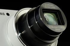 Samsung Galaxy Camera EK GC100 Review lens angle.  Looking forward to smart cameras.